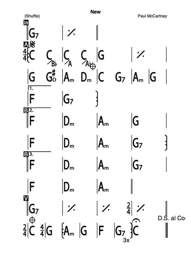 irealProデータ Paul McCartney- New