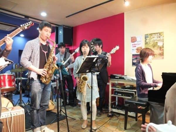 【動画】尾崎ギター教室との合同ジャムセッションレポート