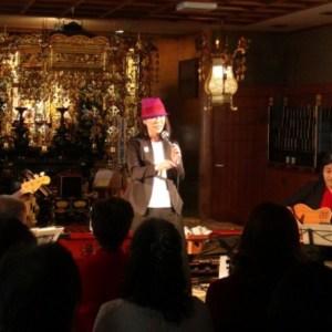 【動画】阿倍野泰然寺にてクリスマスイベント・ライブでした。