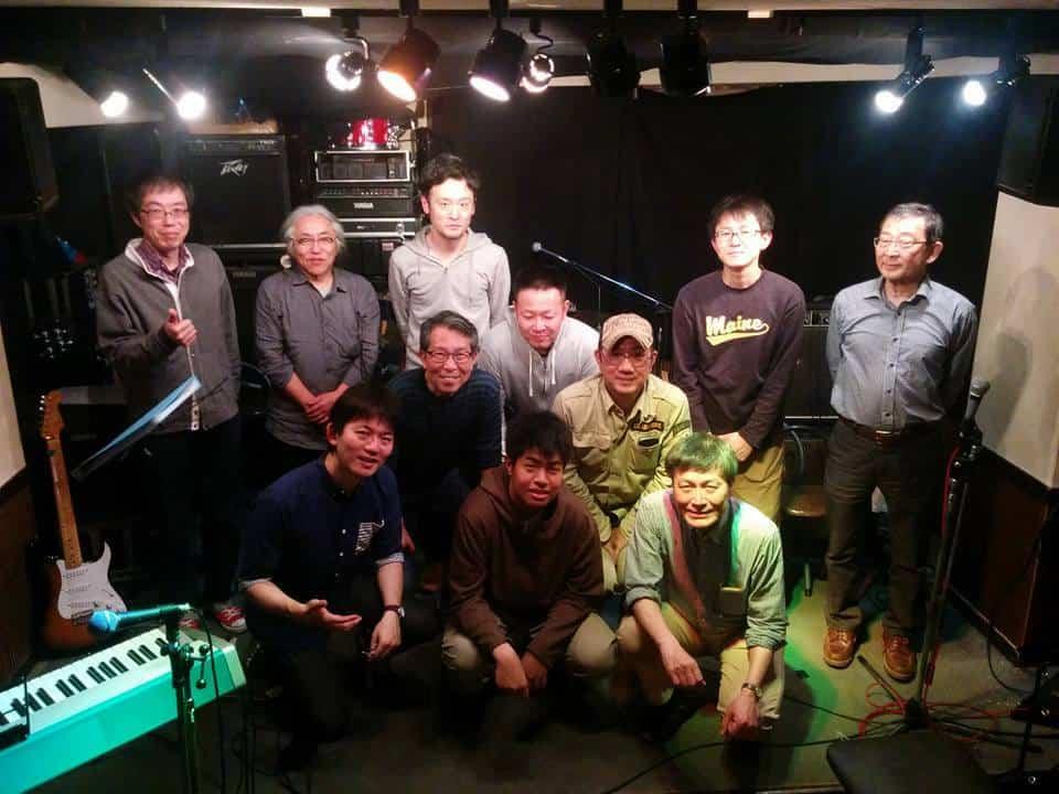 11月27日(日)は関目FLEXで教室ビートルズセッションです。