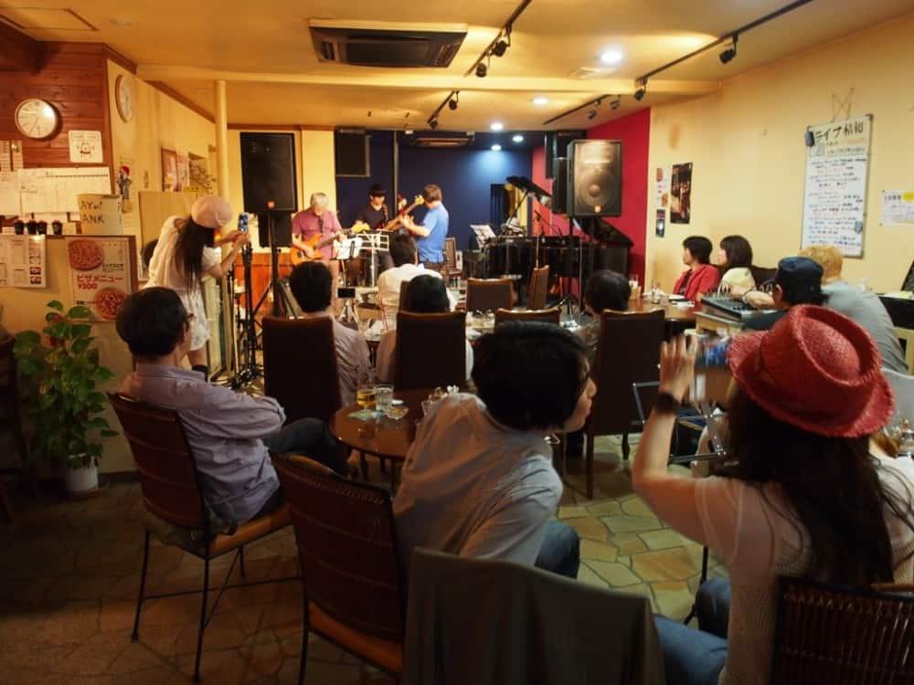 PRISMのギタリスト和田アキラさんのジャムセッション終了しました