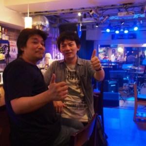 1月12日(木)本町のライブバーMrs.Dolphin(ミセスドルフィン)にてギタリストneaさんドラマー光田臣さんとジャムセッションホストです。