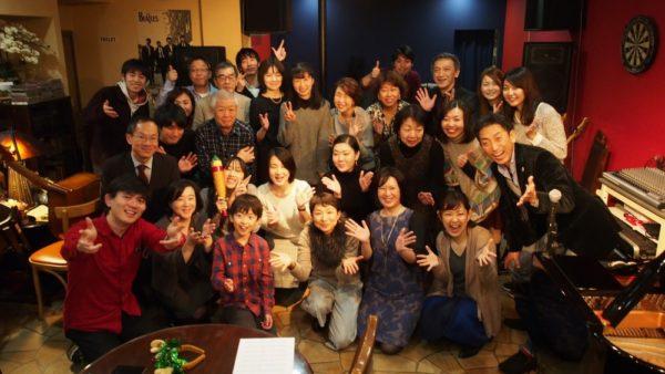 忘年会セッション(with柏木玲子ジャズピアノスクール)でした。