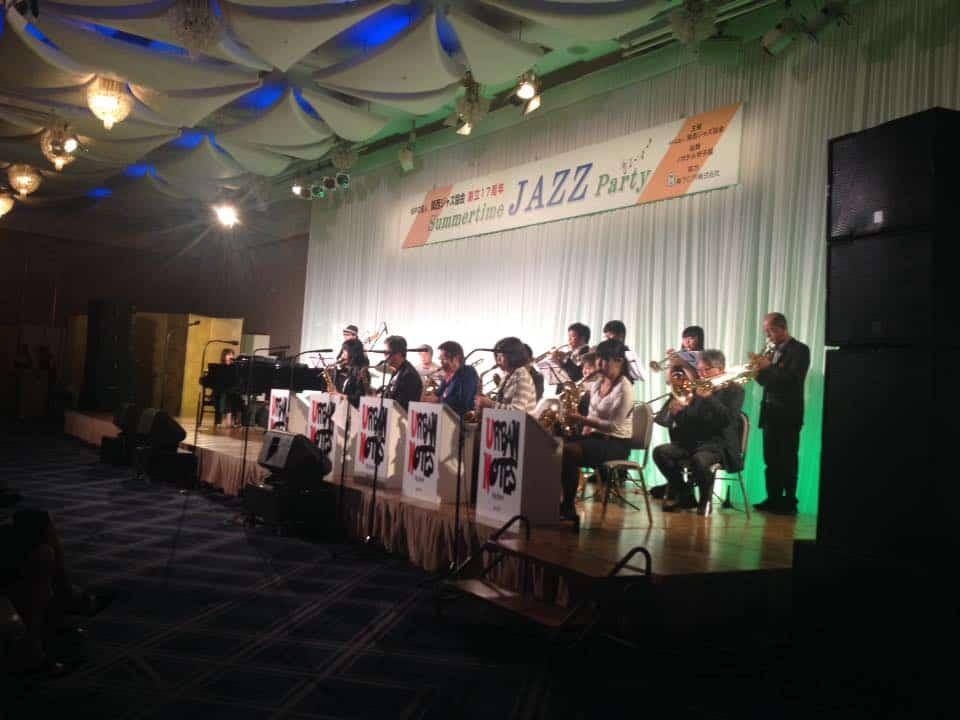 関西ジャズ協会のイベント【Summer Jazz Party2017】に出演しました。