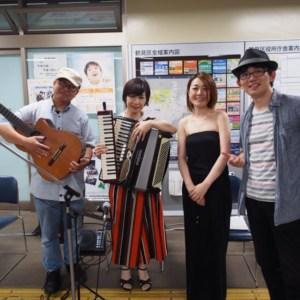 鶴見区役所のトワイライトコンサートに出演しました。
