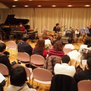 第10回 竹田音楽教室・山口ドラム教室合同発表会にてベースサポート演奏です。