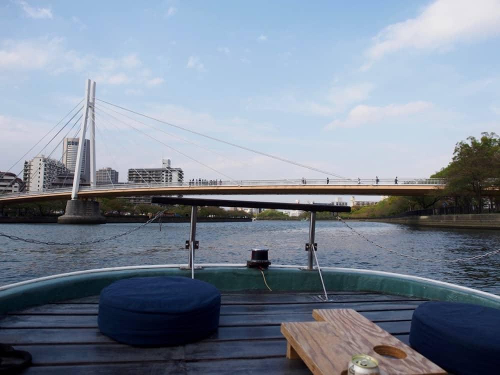 御舟かもめ 城北川さくらクルーズ2018