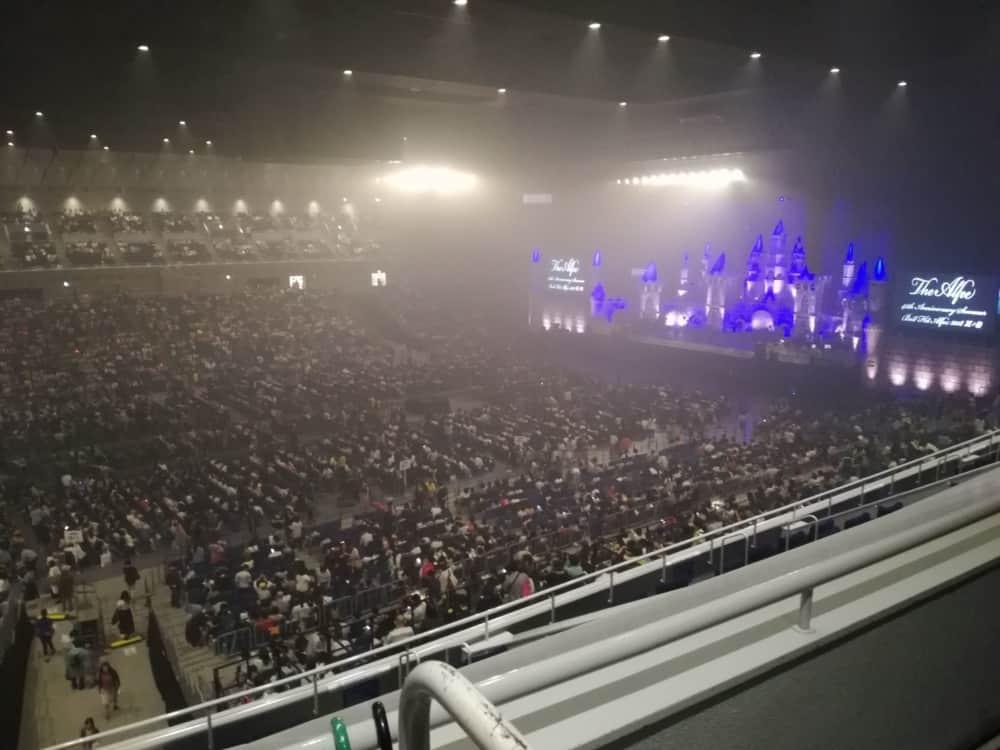 THE ALFEE 夏のイベントat 横浜アリーナ(1日目:2018/7/28) に行ってきた。