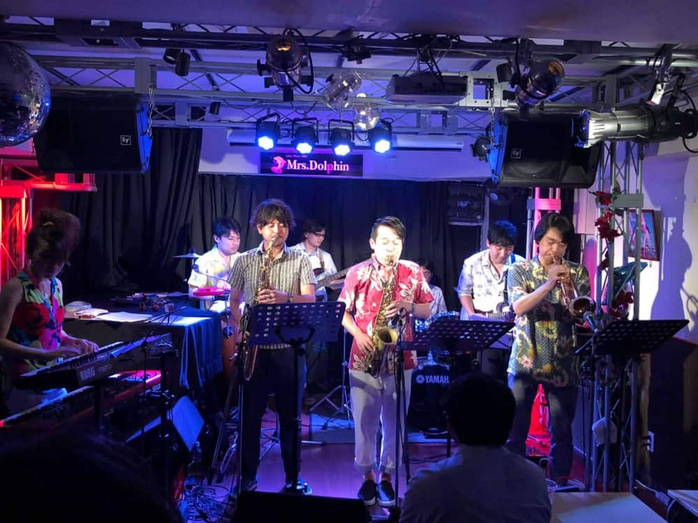 The Brecker Brothers Band Night at 西本町Mrs.Dolphin 7/29レポート