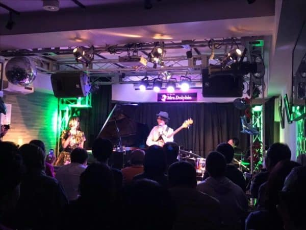 【レポート】小林理紗トリオ LIVE 12.1@Mrs Dolphin