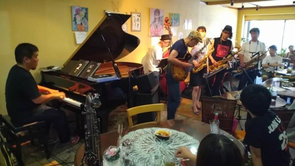 ついったー東方部 Jam session(Jazz Funk インスト)@Cafe de Iwacco 9/29